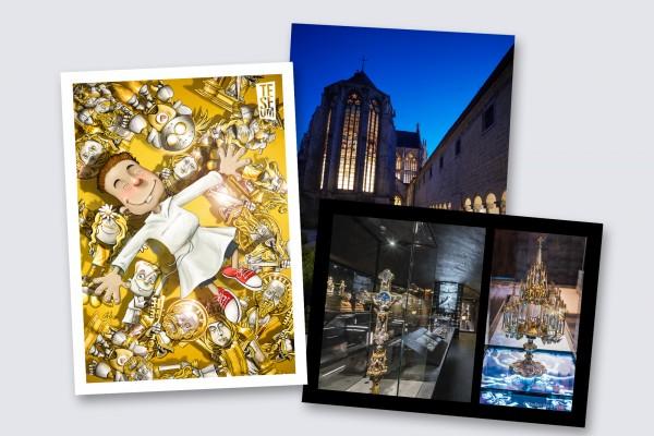 Postkaarten - Teseum